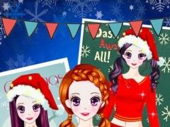 Christmas Dress Up - Beauty girl Dress Up Story 1.0 Screenshot