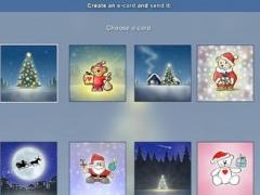 Christmas E-card Maker 1.0 Screenshot