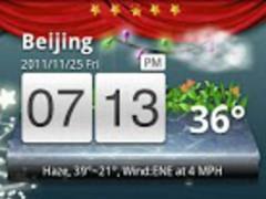 Christmas Eve GO Launcher EX 1.0 Screenshot