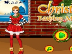 Christmas Fashion Makeover - game for girls 1.0 Screenshot
