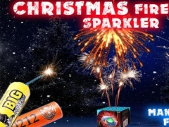 Christmas Fireworks Sparkler 1.0.1 Screenshot