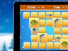 Christmas Fishes Matching Cards - Christmas Games 1.0 Screenshot