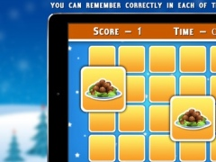 Christmas Foods Matching Cards - Christmas Games 1.0 Screenshot