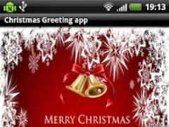 Christmas greeting app 1.0 Screenshot