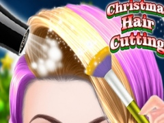 Christmas Hair Cutting - Trendy Hairstyle Games 1.0 Screenshot