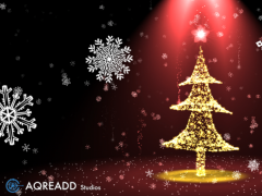 Christmas tree 3D live wallpaper HD 5.1.0 Screenshot
