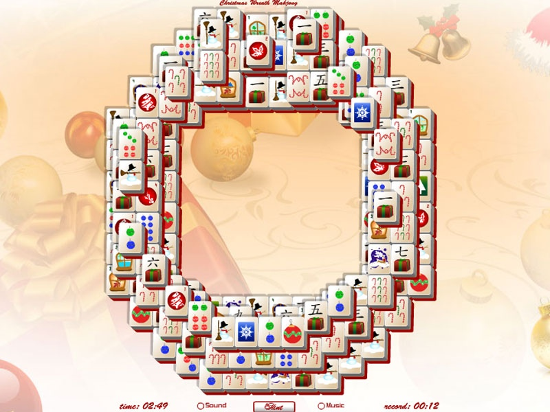 Mahjong Christmas.Christmas Mahjong Wreath 1 0 Free Download