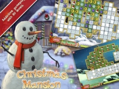 Christmas Mansion HD Free - Prepare your house for holiday in a free matching game 1.1.5 Screenshot