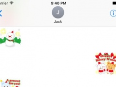 Christmas & NewYear Stickers for iMessage 1.0 Screenshot