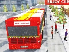 Christmas Party Bus Driver 3d – Real City Transporter Simulation Game 1.0 Screenshot
