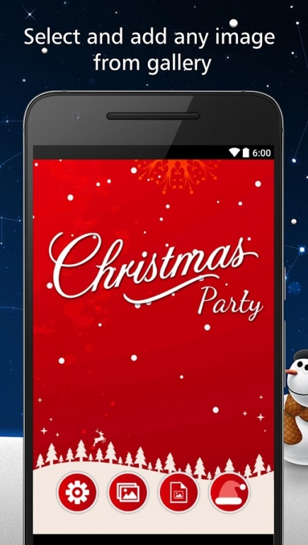 Christmas Party Invitations Card Maker Free Download