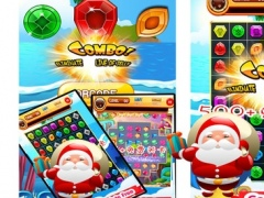 Christmas Santa Claus Jewel Match 3 1.0 Screenshot