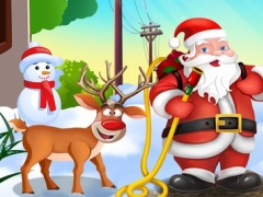 Christmas Santa Hero - Fire & Rescue Kids Games 1.0 Screenshot
