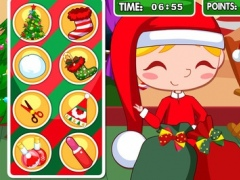 Christmas Slacking Games, Do funny tricks while Santa Claus sleeps 1.0 Screenshot
