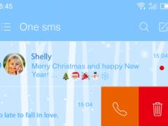 Christmas Snowman - One Sms 1.0 Screenshot