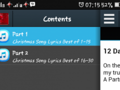 Christmas Song - Best Lyrics 1.1 Screenshot