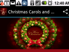 Christmas Songs and Carols 1.0 Screenshot
