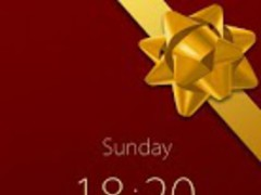 Christmas Theme GO Locker 1.00 Screenshot