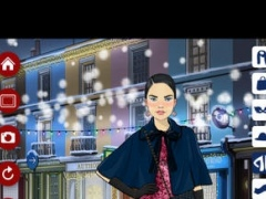 Christmas Walks! Dress Up, Make Up and Hair Styling game for girls 2.0 Screenshot