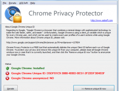 Chrome Privacy Protector 1.10 Screenshot