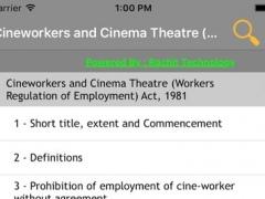Cineworkers Act 1981 1.0 Screenshot