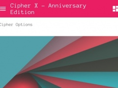 Cipher X - Anniversary Edition 2.7.3 Screenshot