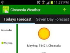 Circassia Weather 1.0.1 Screenshot