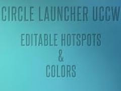 Circle Launcher HD UCCW SKIN 3.0 Screenshot
