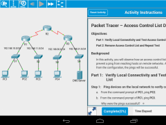 Cisco Packet Tracer Mobile 3.0 Screenshot