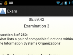 CISSP Evaluator Practice Exams 2.3 Screenshot
