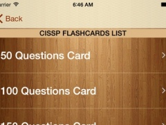 CISSP Flashcards Free 1.1 Screenshot