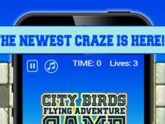 City Birds Flying Adventure Game - Tap Tap Traffic Mania 1.0 Screenshot
