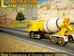 City Construction Crane Operator Excavator Driver Road Builder Simulator 2016 1.0 Screenshot