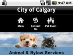 City of Calgary Pets 7.1.3 Screenshot