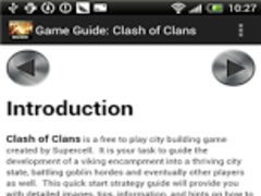 Clash of Clans Game Guide 1.0 Screenshot