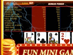 Classic Casino Game: 4 IN 1 Machine HD! 1.0 Screenshot