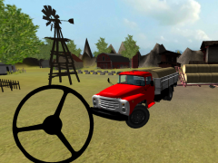 Classic Farm Truck 3D: Hay 1.4 Screenshot
