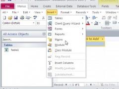 Classic Menu for Access 2010 5.00 Screenshot