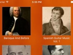 Classical Guitar Music: Master Collection 100 3.0 Screenshot