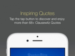 Clausewitz Quotes | QuoteyBits 1.2 Screenshot