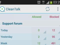 CleanTalk 1.1 Screenshot