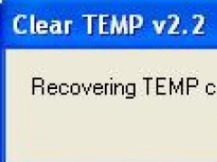Clear TEMP folder 1.0 Screenshot