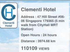 Clementi Hotel 1.0 Screenshot