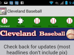 Cleveland Baseball Kit 1.0 Screenshot