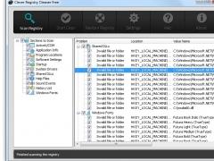 Clever Registry Cleaner Free 4.4.5 Screenshot