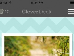 CleverDeck Spanish Flashcards - Learn Spanish Vocabulary 1.2 Screenshot