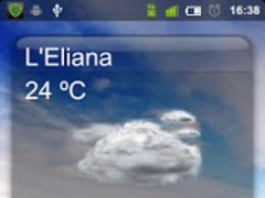 Clima Widget 1.0 Screenshot