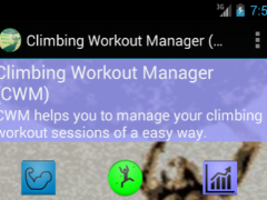 Climbing Workout Manager 1.6 Screenshot