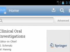 Clinical Oral Investigations 3.02 Screenshot