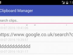 Clip Board Manager 1.0 Screenshot